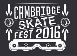 Cambridge SkateFest T-Shirt